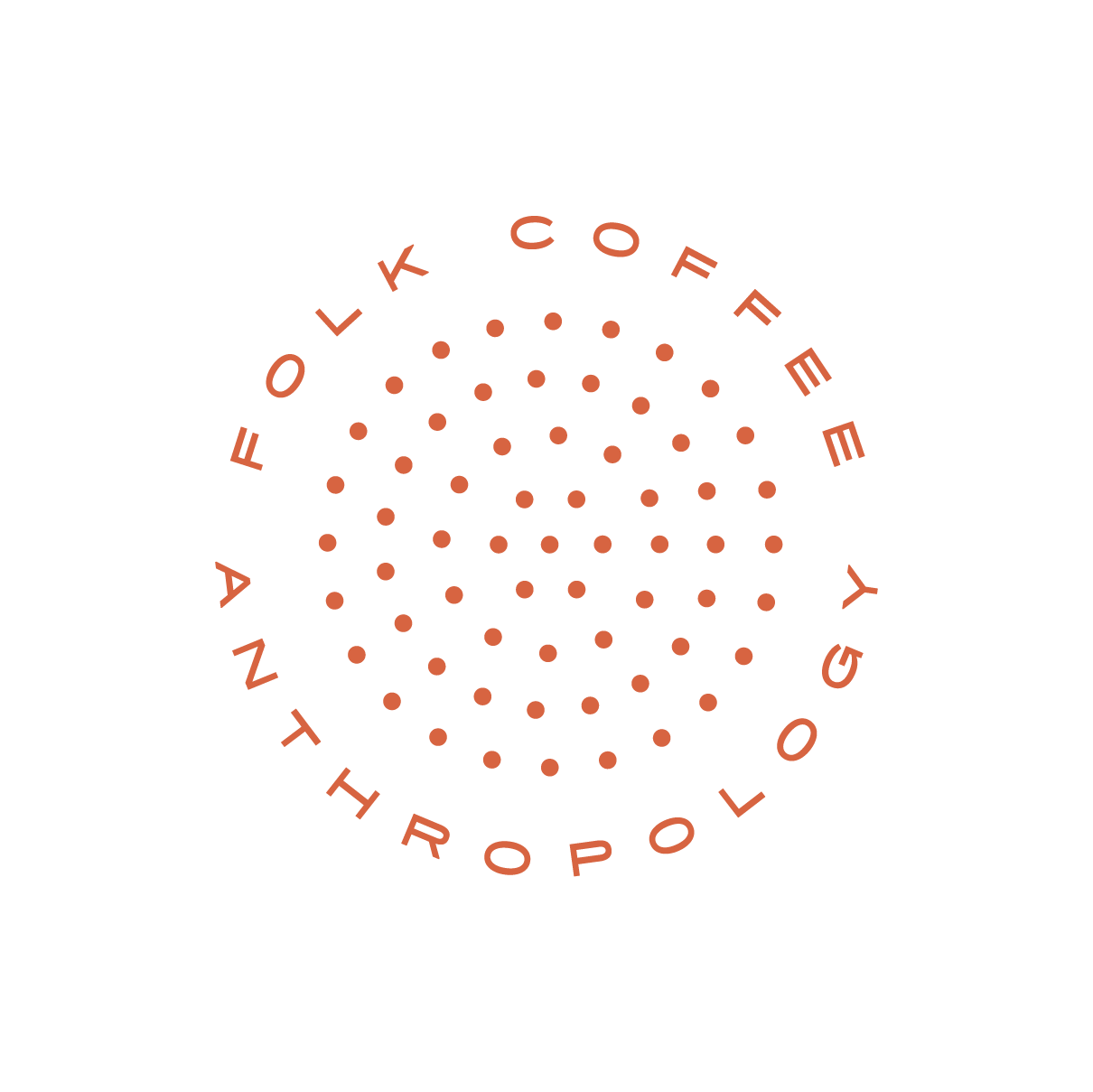 FOLK COFFEE ANTHROPOLOGY Logo